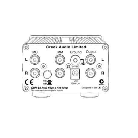 Creek Audio OBH-15mk2