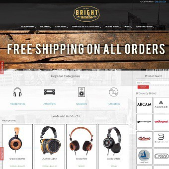 About Bright Audio | Online Audio Store | Bright Audio