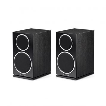Wharfedale Diamond 220 - Black Ash Pair With Grills